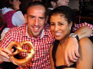 Franck Ribéry, Wahiba et les enfants: Tenues traditionnelles pour fêter la bière