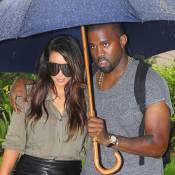 Kanye West et Kim Kardashian : Retrouvailles sous la pluie pour les amoureux