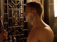 Skyfall : Daniel Craig, impeccable nu avec une James Bond Girl ou en cascade