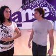 Christophe Dominici et Candice dans Danse avec les stars 3, samedi 13 octobre 2012 sur TF1