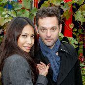 Anggun avec son mari Cyril Montana : Viticultrice en herbe en plein Paris