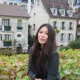 Anggun, à Paris, le samedi 13 octobre 2012 à l'occasion des vendanges.