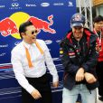 Mark Webber et Sebastian Vettel se sont mis à danser le très improbable Gangnam Style avec son non moins probable auteur, Psy à l'issue du Grand Prix de Corée à Yeongam le 14 octobre 2012 où ils ont respectivement terminé second et premier.