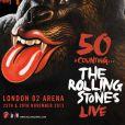Les Rolling Stones seront en concert à Londres en novembre et à Newark, en décembre 2012.