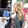 Blake Lively sur le tournage de Gossip Girl à New York, le 15 octobre 2012