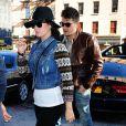Katy Perry et John Mayer ont été vus ensemble à New York, le 16 octobre 2012.