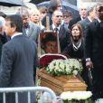 Obsèques de Frank Alamo en l'église de Saint-Germain-des-Prés à Paris, le 18 octobre 2012.