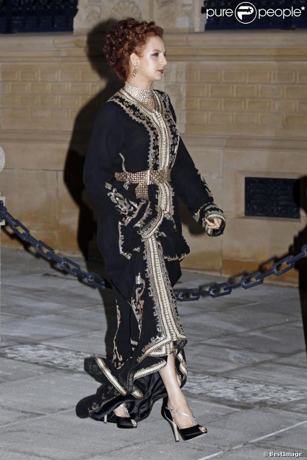 La princesse Lalla Salma du Maroc - Arrivée des invités au dîner de