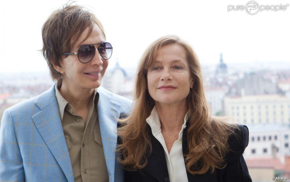 Michael Cimino et son actrice Isabelle Huppert se sont retrouvés pour présenter  La Porte du paradis  (1980) au Festival Lumière 2012, à Lyon le 21 octobre.