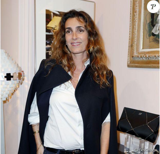 Mademoiselle Agnès à la présentation de la nouvelle collection de chaussures Roger Vivier, intitulée Prismick, le 18 octobre 2012 à Paris.