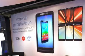 Julie Depardieu, Marina Foïs... fêtent le lancement du Motorola RAZR i