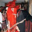Heidi Klum et Seal dans leur déguisement d'Halloween en 2004.