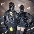 Heidi Klum et Seal dans leur déguisement d'Halloween en 2009.
