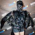 Heidi Klum dans son déguisement d'Halloween en 2010.