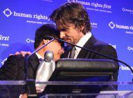 Christian Bale : Les larmes de Batman face à un activiste chinois