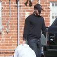 Drew Barrymore, son mari Will Kopelman et Olive sont allés déjeuner dans un restaurant à Los Angeles, le 25 octobre 2012.