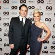 """John Cusack et Barbara Sturm à la soirée  GQ Men of the Year Award 2012 , à Berlin le 26 octobre 2012."""