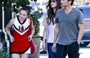 Kate Beckinsale : Après-midi en famille avec Lily, sa pom-pom girl de fille