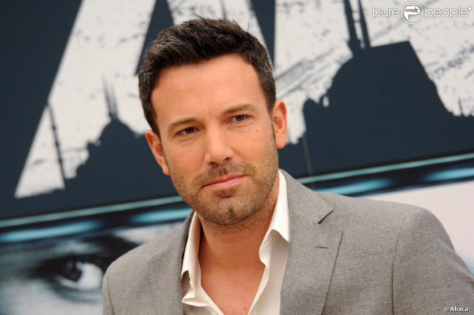 Ben Affleck lors d'un photocall du film Argo à Rome le 19 octobre 2012