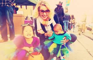 Katherine Heigl et ses filles : Premier Halloween pour l'adorable Adalaide