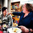 Gérard Depardieu et Jean Imbert dînent ensemble