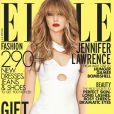 Jennifer Lawrence en couverture du ELLE américain pour le mois de décembre 2012