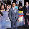 Taylor Lautner lors de l'avant-première du film Twilight - chapitre 5 : Révélation (2e partie) à Los Angeles le 12 novembre 2012