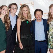 Michael J. Fox soutenu par sa femme, ses enfants et la sublime Amanda Peet