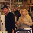 Petra Ecclestone et son mari James Stunt surpris au Bel Bambini de Los Angeles le 10 novembre 2012
