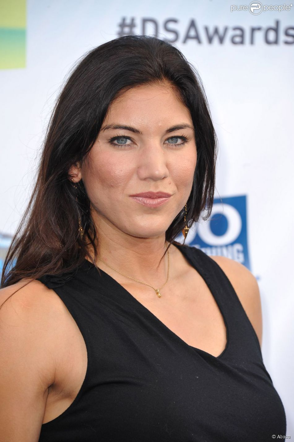 Hope Solo au Do Something Awards au Barker Hangar de Santa Monica le 19 août 2012