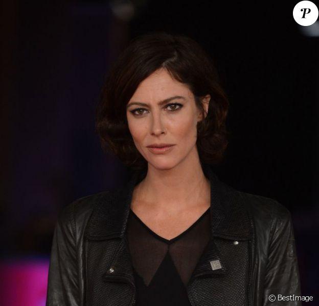 L'actrice française Anna Mouglalis lors de la projection du film Photo au Festival du film de Rome le 13 novembre 2012