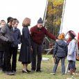 Woody Allen et Vanessa Paradis sur le tournage de Fading Gigolo le 14 novembre 2012 à New York