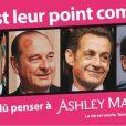 La publicité du site de rencontres extraconjugales  AshleyMadison.com  lancée en France le 22 octobre 2012.