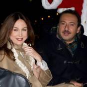 Elsa Zylberstein, Patrick Timsit parrains du village de Noël des Champs-Elysées