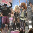 Christina Aguilera à la cérémonie des American Music Awards à Los Angeles, le 18 novembre 2012.