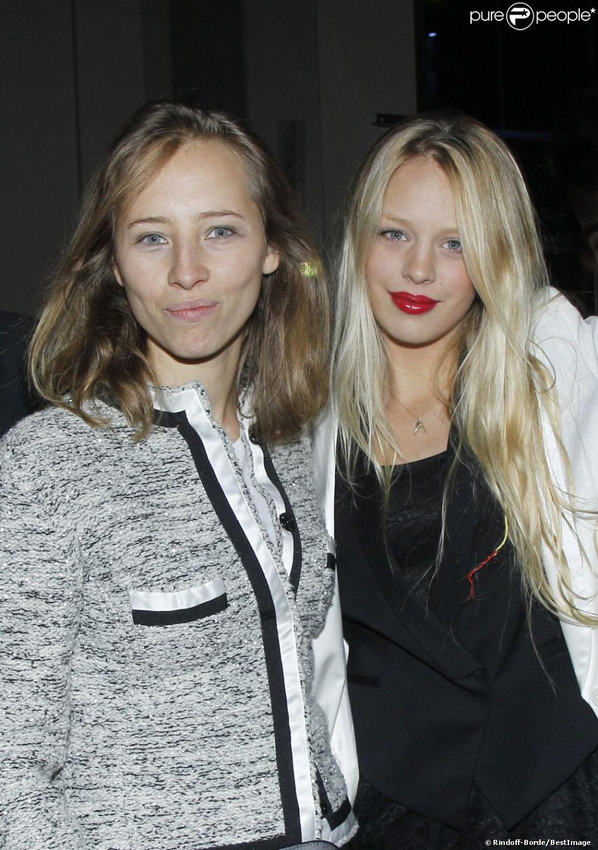 Isild Le Besco et Shanna Besson à l'inauguration de la cité du cinéma à Saint Denis le 21 septembre 2012.