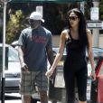 Kimora Lee Simmons et Djimon Hounsou à Los Angeles, le 28 mai 2012.