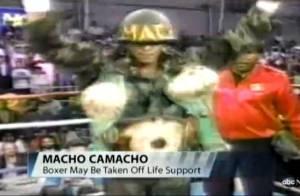 Hector Macho Camacho : Maintenu en vie artificielle malgré la mort cérébrale