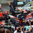 Sebastian Vettel a été sacré champion du monde pour la troisième fois de suite le dimanche 25 novembre 2012 lors du Grand Prix du Brésil à Interlagos  à Sao Paulo