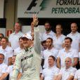 Michael Schumacher a fait ses adieux au monde de la Formule 1 le 25 novembre 2012 lors du Grand Prix du Brésil à Interlagos à Sao Paulo