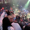 Exclusif - Diddy, micro en main, anime la soirée d'anniversaire de DJ Khaled au LIV. Miami Beach, le 25 novembre 2012.