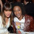 Karine Lima et Shirley Souagnon lors de la 18ème édition des Trophées de la Nuit au Lido à Paris le 26 Novembre 2012.