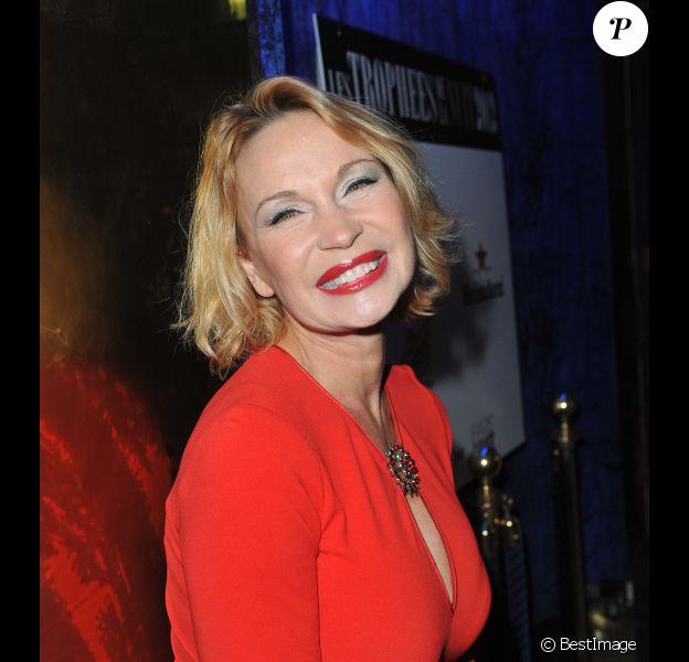 Marlène Mourreau lors de la 18ème édition des Trophées de la Nuit au Lido à Paris le 26 Novembre 2012.