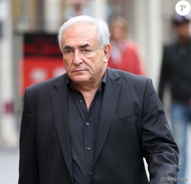 Dominique Strauss-Kahn à Paris, le 20 septembre 2011.