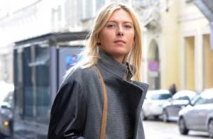 Maria Sharapova : Shopping et rencontre inattendue pour la reine du tennis