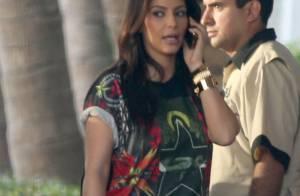 Kim Kardashian : Street et bling, elle pique le look de son Kanye West