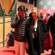 Sergio Alvarez Moya et sa femme Marta Ortega, enceinte de six mois, au Gucci Paris Masters à Villepinte, le 1er décembre 2012.