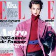La couverture du magazine  Elle  du 7 décembre 2012.