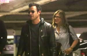 Jennifer Aniston et son fiancé Justin Theroux : Shopping en amoureux