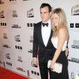 Jennifer Aniston et Justin Theroux lors d'une soirée en l'honneur de Ben Stuller à Beverly Hills le 15 nvoembre 2012